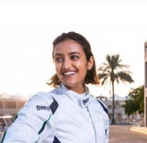 ريما الجفالي تدخل التاريخ كأول سعودية تشارك في سباقات السيارات