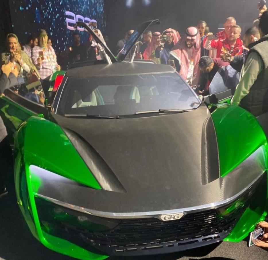 تعرف على السعر الذي بيعت به سيارة المستقبل 2030