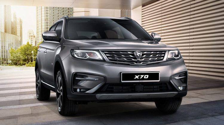 بروتن X70 بدأت تصنع محليا فى ماليزيا بعد عام من تقديمها فى الصين