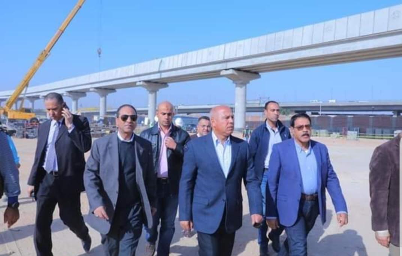 وزير النقل يتابع خطوطا تأسيس مشروع القطار الكهرب السلام العاصمة الإدارية