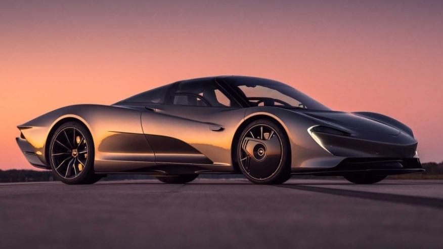 مكلارين سبيدتيل تصل لسرعة 403 كم\س لتكون أسرع سيارة مكلارين في التاريخ