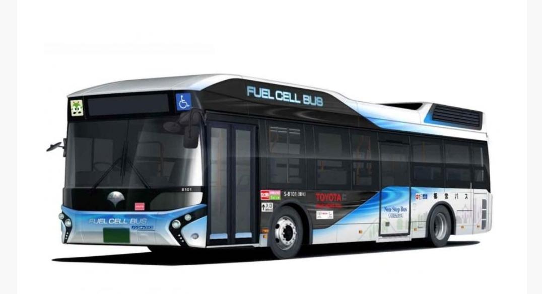 100 حافلة مستقبلية من دون غازات ملوثة في أولمبياد طوكيو