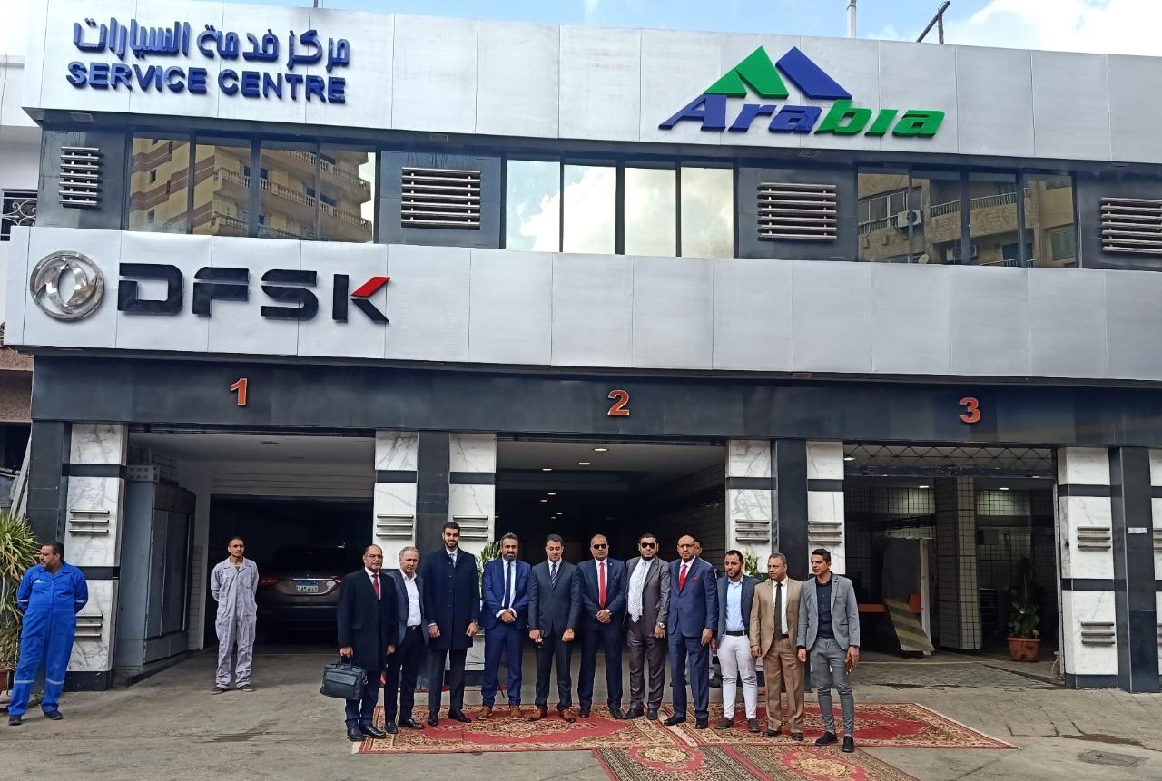 ناشونال موتورزتفتتح مركز خدمتها الثانى عشر التابع لشركة عربية اويل بالحى السابع بمدينة نصر