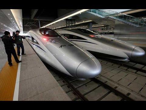 اليابان صنعت قطار يطير على الأرض بسرعة 600 كم س