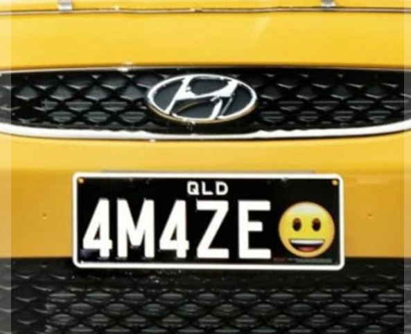 """أمريكا.. السماح للسائقين باختيار رموز """"إيموجي"""" في لوحات سياراتهم"""