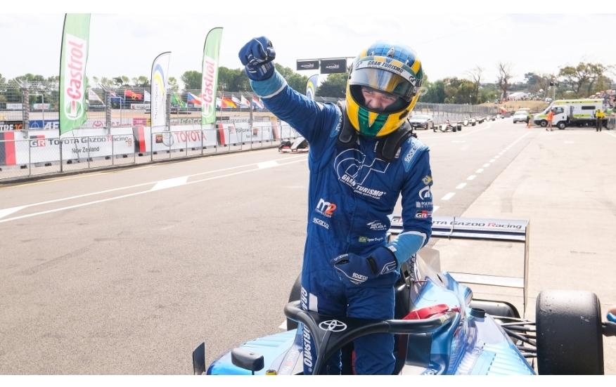 إيغور فراغا يفوز بلقب سلسلة سباقات تويوتا 2020 لجائزة سباق نيوزيلندا الكبرى