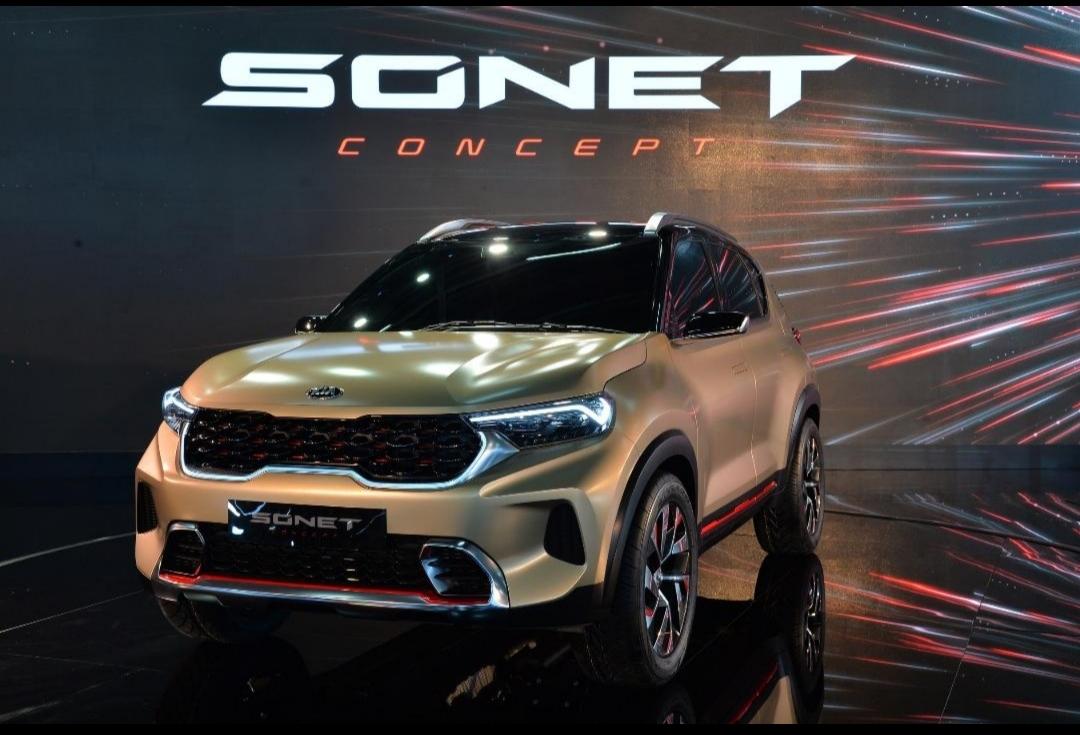 كيا تكشف عن تصميم سيارة سونيت الرياضية متعددة الاستخدامات  2020
