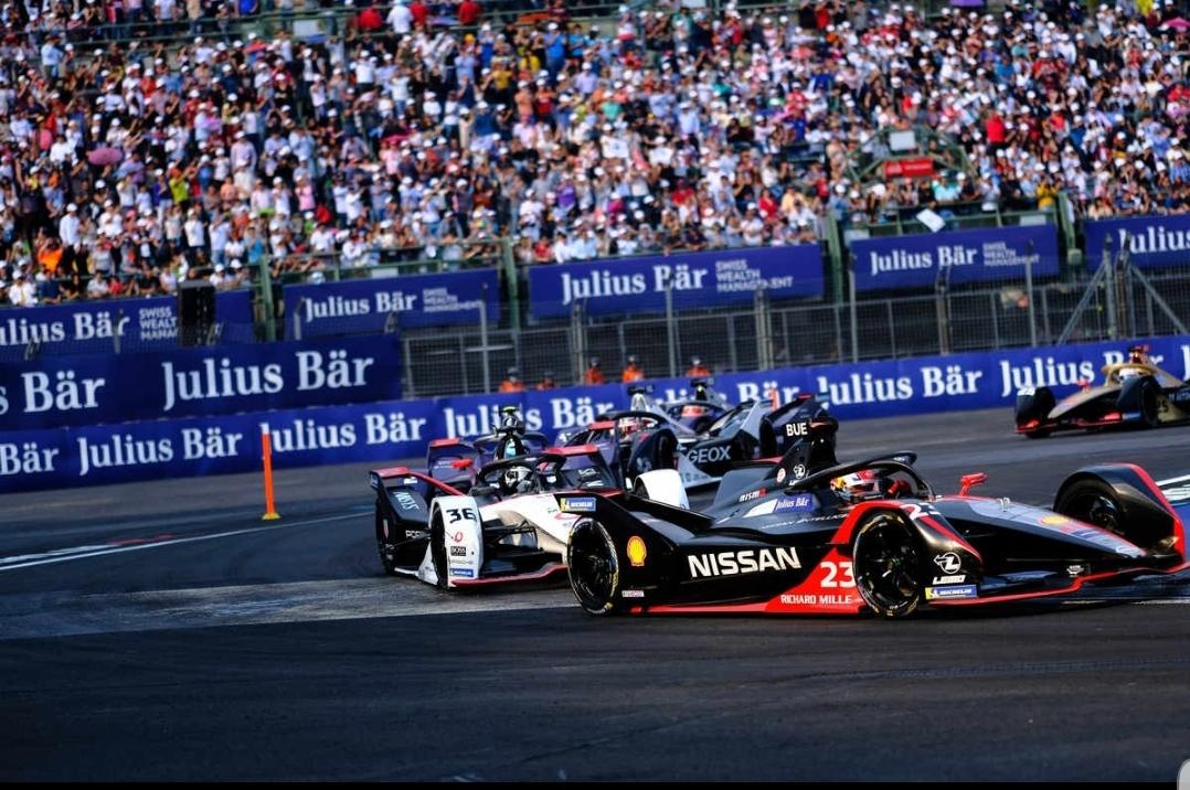 """فريق نيسان """"e.dams""""  يحقق مراكز متقدمة في سباقات  Formula E في مدينة مكسيكو سيتي"""