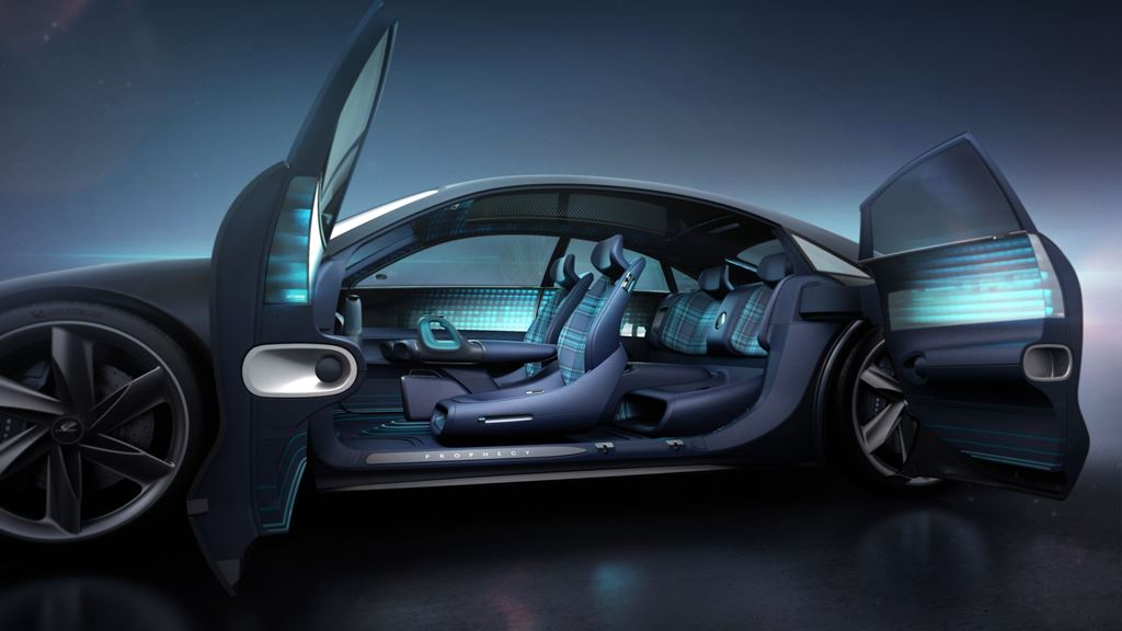 Hyundai Motor presents its future vision with 'Prophecy' Concept Electric Vehicle
