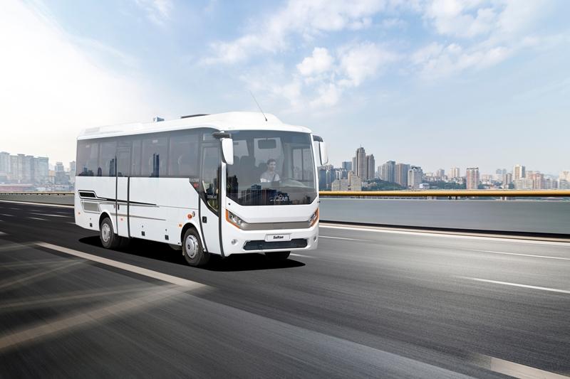 Otokar exhibited five vehicles at Busworld Turkey