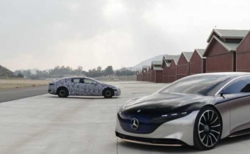 مرسيدس EQS قد تصبح أول سيارة AMG كهربائية