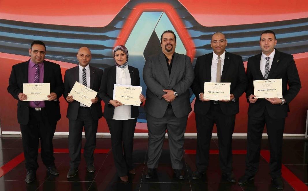 EIM تفوز بشهادة أفضل أداء فى استقصاء رأى عملاء رينو في الشرق الأوسط