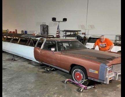 أطول سيارة في العالم ستعود لوضعها الأصلي بعد ترميم وصيانة شاملة