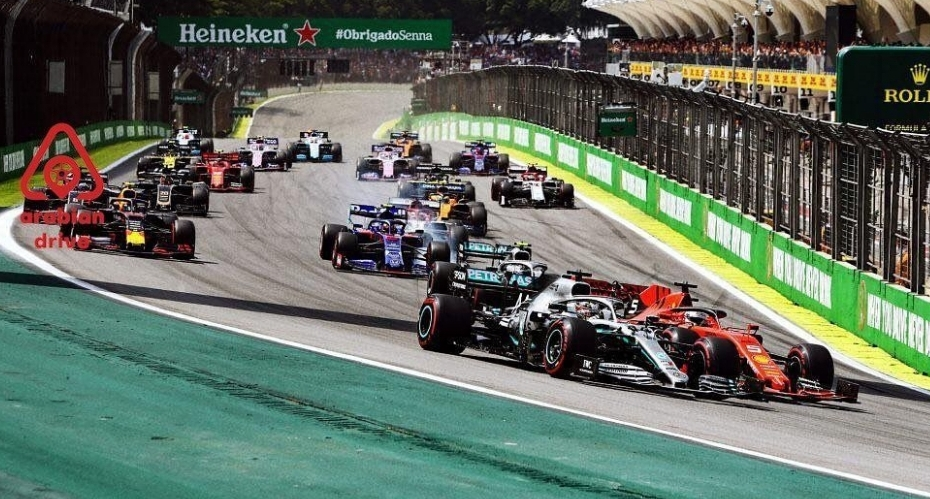 إقامة سباق الجائزة الكبرى الفورمولا 1 بالبرازيل بالجمهور