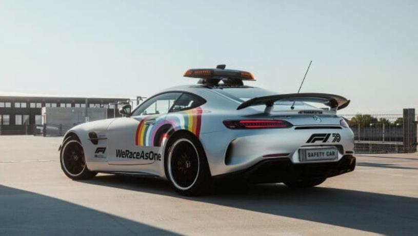بطولة العالم للفورميلا 1 تستعد لإستقبال سيارة السلامة الرسمية الجديدة (مرسيدس -AMG GT R