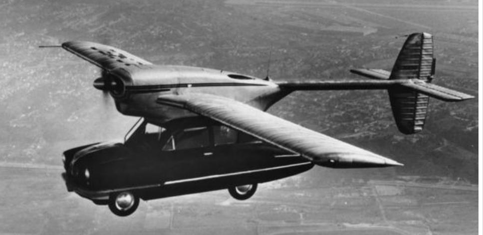 من التحطم إلى المتحف: صور تروي تاريخ السيارات الطائرة