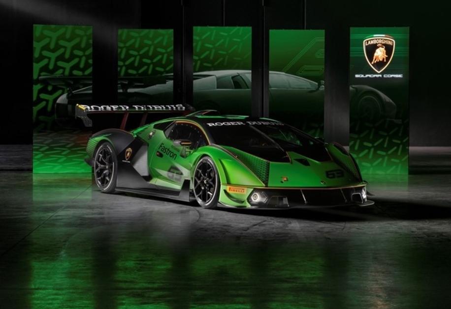 لامبورجيني تطلق سيارتها الإستثنائية (إيسينزا – Essenza SCv12)