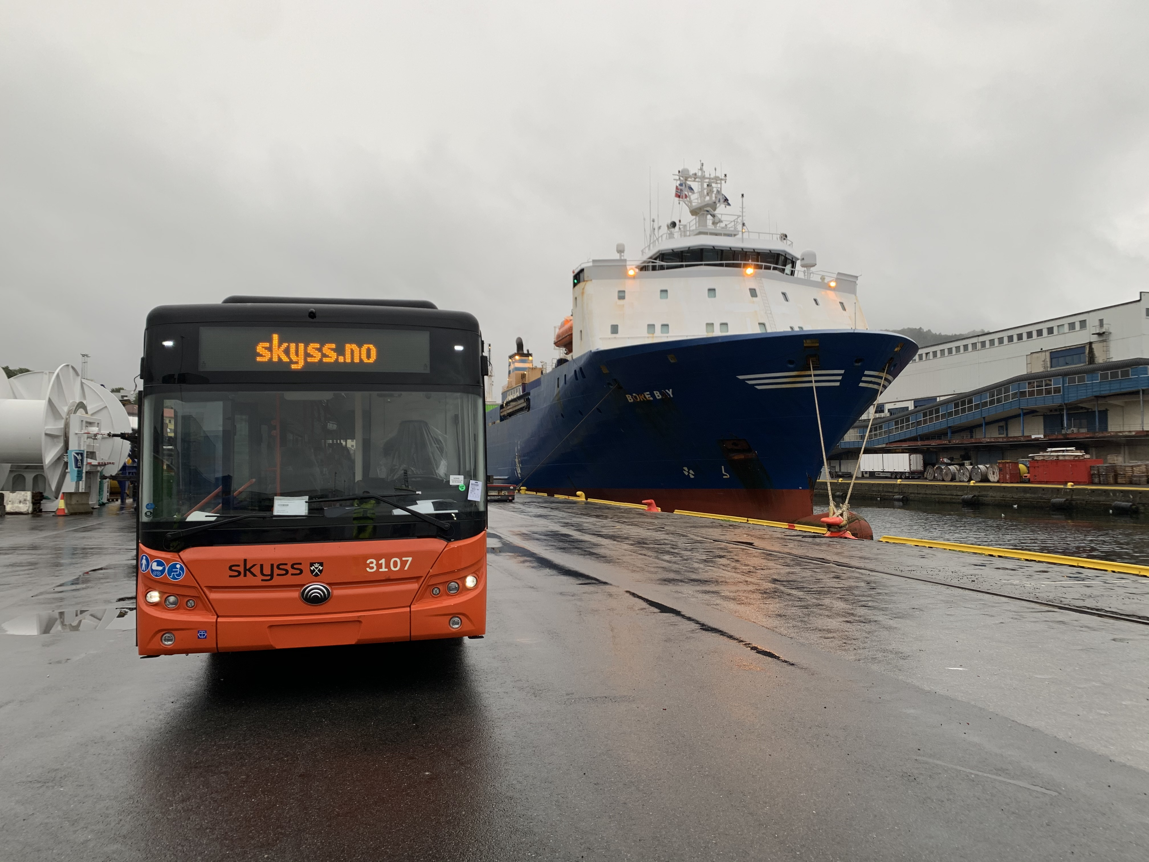 Norway: Arrival of the first e-buses in Bergen