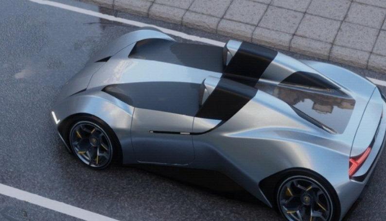 لا مبورغيني تكشف عن بارتيشتا بيبوستو سبايدر بمقعدين ومحرك V12