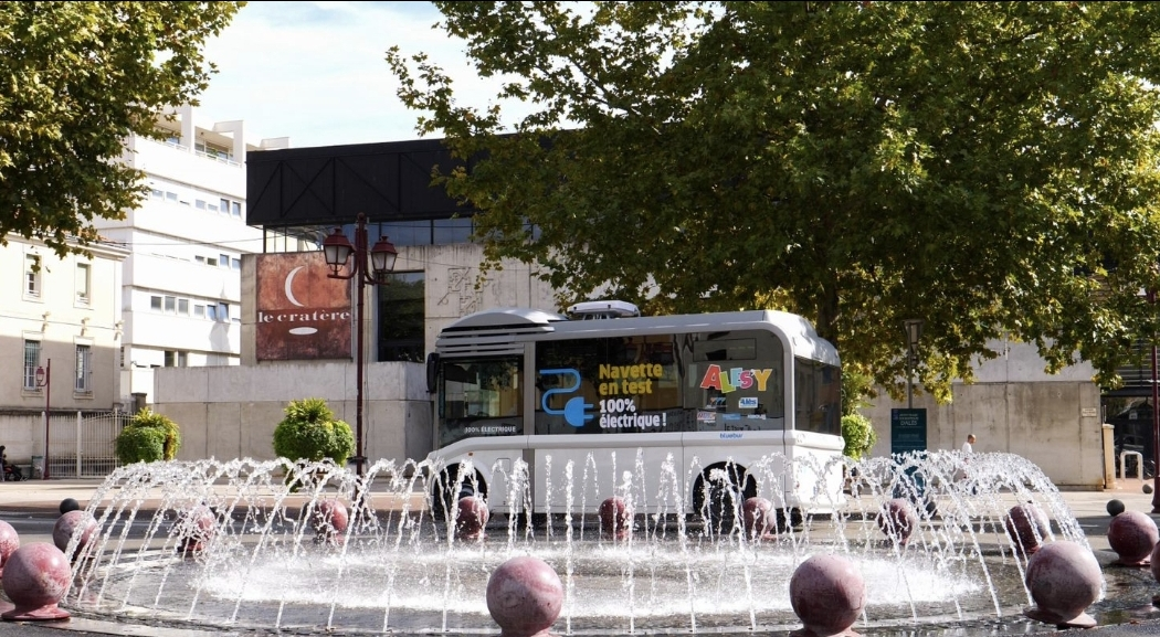 Keolis obtains the renewal of the public transport contract in Alès, France, and will test a 100% hydrogen bus