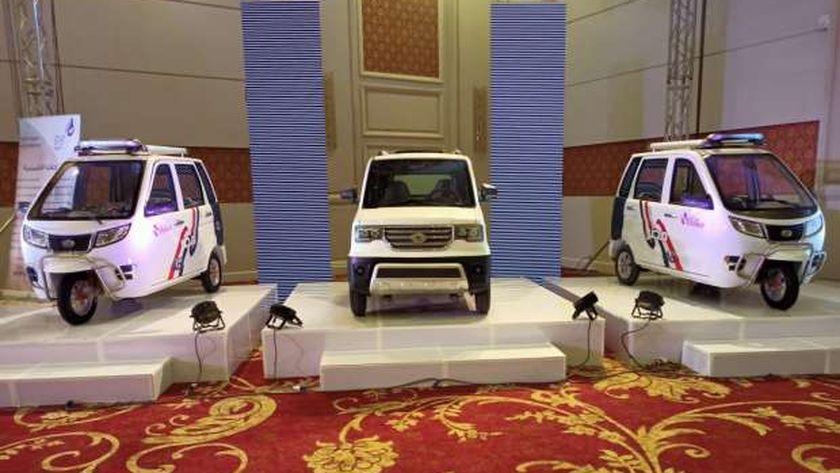 مجموعة من السيارات الكهربائية من دوليبات  مصر تبدأ ب 35الف جنيها