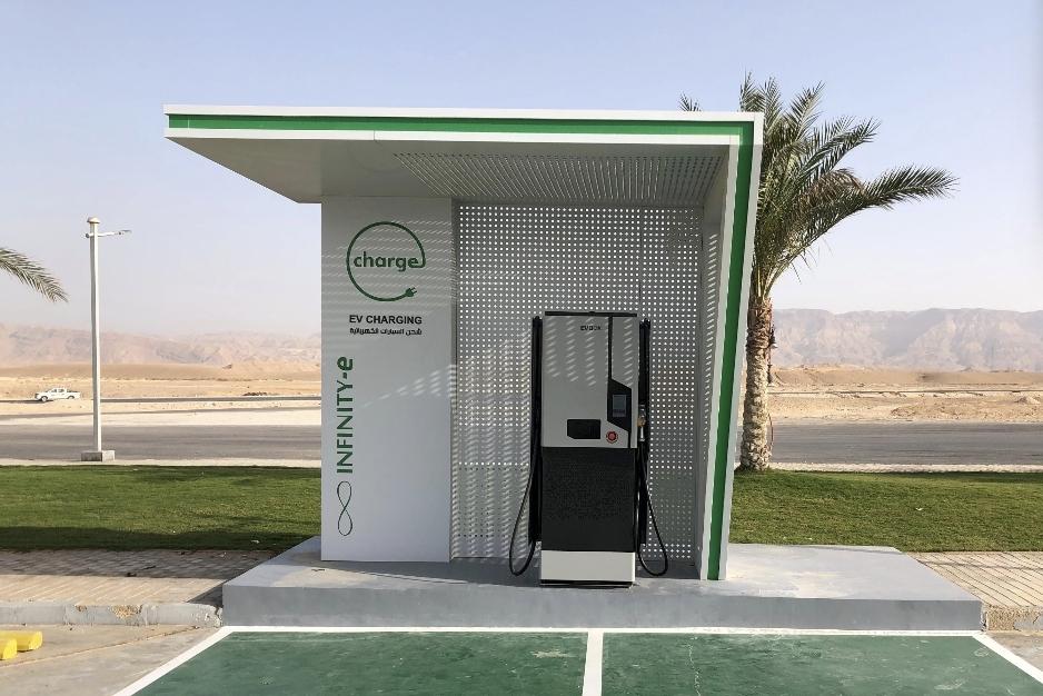 شركة إنفنيتى تُعلن عن خطتها لتوسيع شبكتها لشحن السيارات الكهربائية في مصر