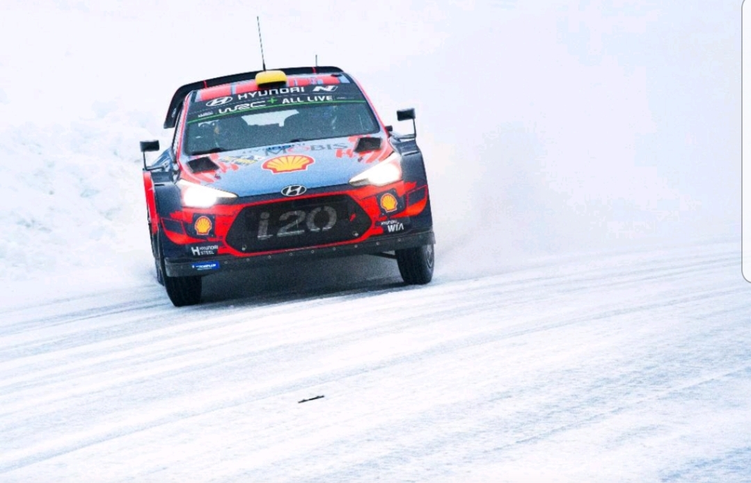 Podium Finish for Hyundai Motorsport in WRC Rally Sweden