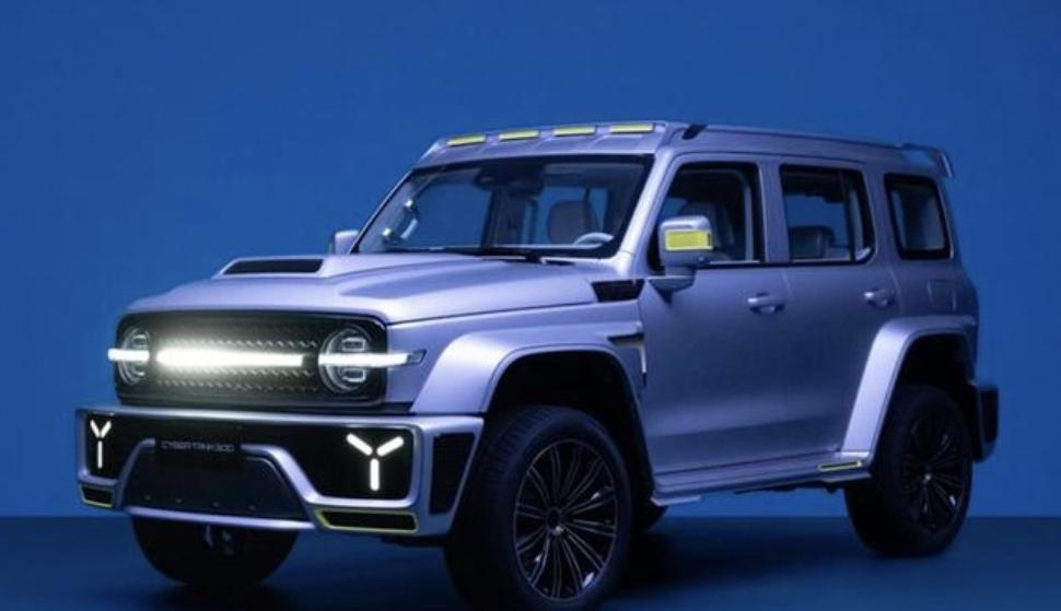 """تانك 300 سايبرتانك"""" هي SUV صينية جديدة للتضاريس الوعرة"""