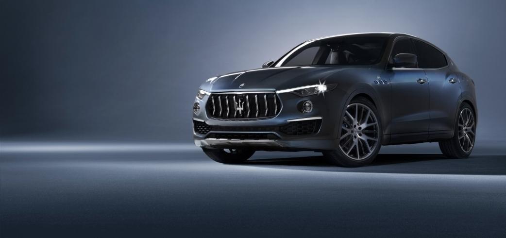 أثناء عرضها الأول عالميا في الصين سيارة مازيراتي ليڤانتي هايبرد الجديدة تلفت الإنتباه