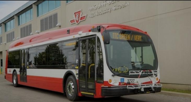 تورونتو تقوم  بشراء 300 حافلة كهربائية