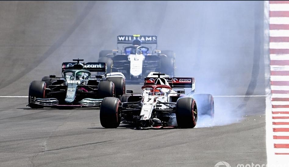 رايكونن يتحمّل مسؤولية حادثته مع جيوفينازي في سباق البرتغال
