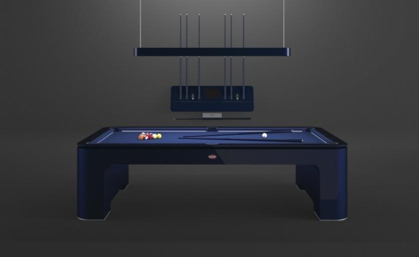 بوقاتي تكشف عن طاولة بلياردو بقيمة 300,000 دولار!