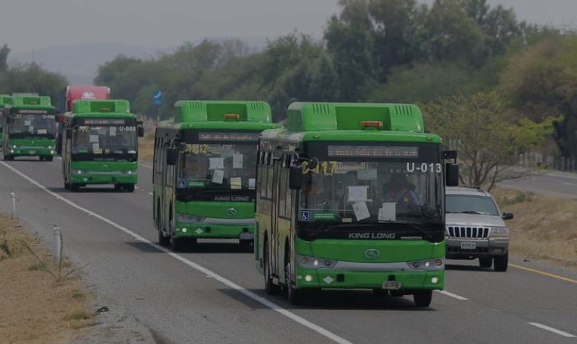 166 NEW KING LONG BUSES ARRIVE IN MEXICO MOVED WITH CNG
