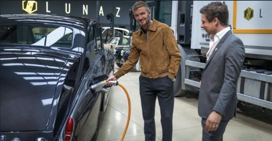 ديفيد بيكهام يستثمر في شركة لوناز المختصة ببناء السيارات الكهربائية