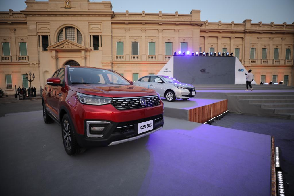 جى بي غبور أوتو تحتفل بانطلاق أول سيارات توكيلها الجديد في مصر شانجان