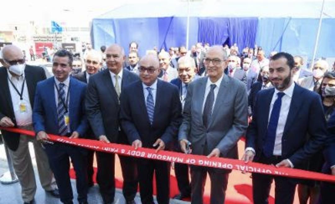 افتتاح أكبر مركز متكامل لأعمال السمكرة والدهان للمنصور للسيارات بأبو رواش