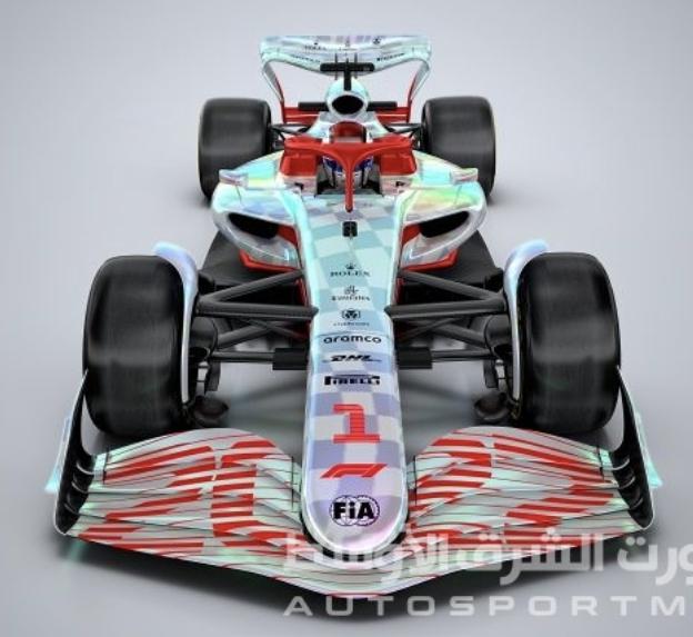 الـ فورمولا 1 تكشف عن نموذجٍ بالحجم الكامل لسيارات 2022