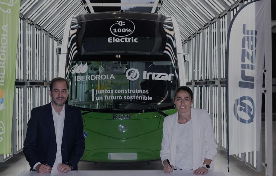 Irizar – Iberdrola work together to the electrification of bus transport