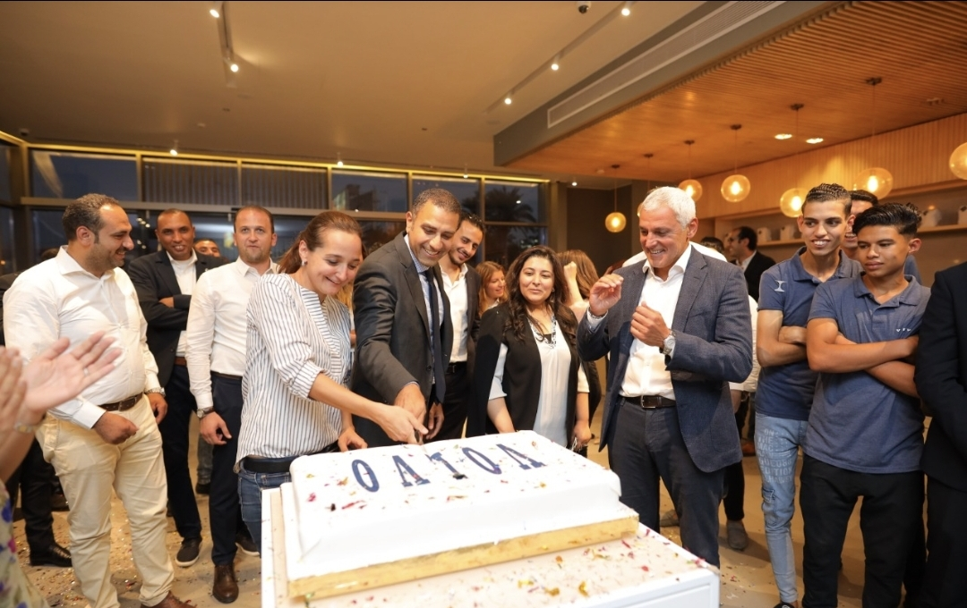 VOLVO EMEA Team and VOLVO Egypt Team at Ezz Elarab Automotive Group Celebrate the Significant VOLVO Sales Record