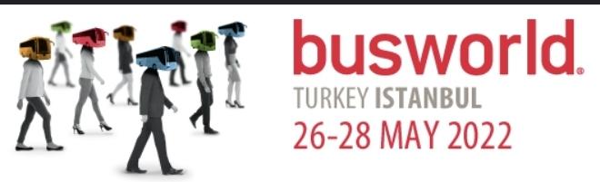 الحجز يتواصل على المشاركة في معرض Busworld  تركيا المقام فى 26 مايو 2022