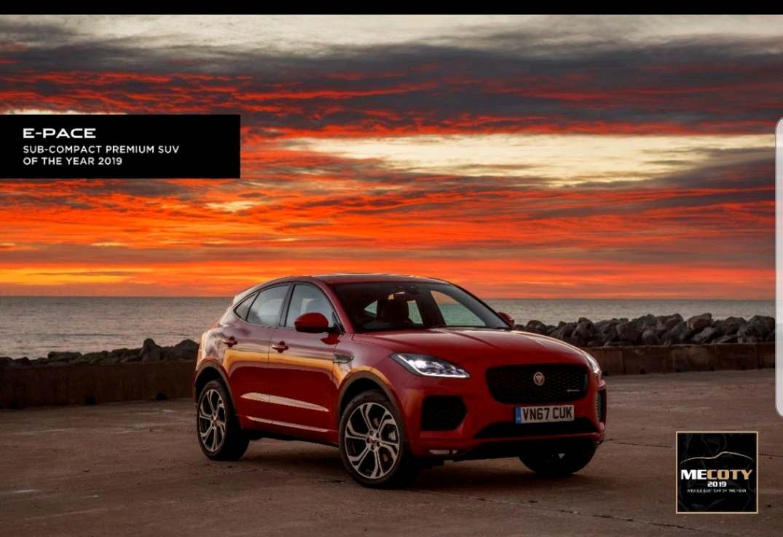 """ثلاثة ألقاب لسيارات """"جاكوار لاند روڤر"""" ضمن جوائز سيارة العام في الشرق الأوسط"""