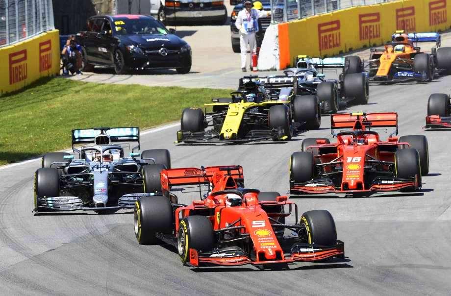 الجولة السابعة من بطولة العالم للفورميلا 1  كندا حكام الإتحاد الدولى للسيارات (FIA) يهدون الفوز لمرسيدس على حساب فيرارى