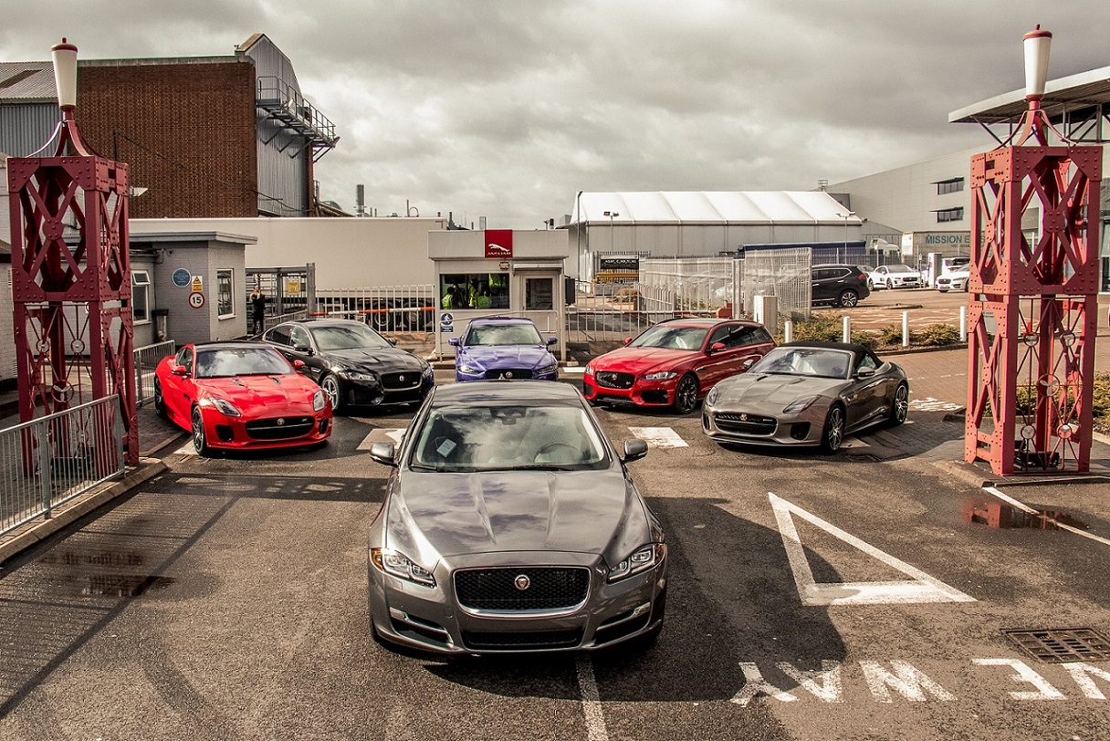 JAGUAR LAND ROVER ACCELERATES ELECTRIFICATION