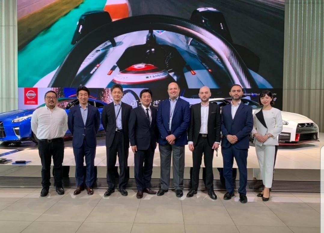 نيسان موتور إيجيبت تكرم فريق عمل خدمات ما بعد البيع في مقر نيسان العالمية باليابان