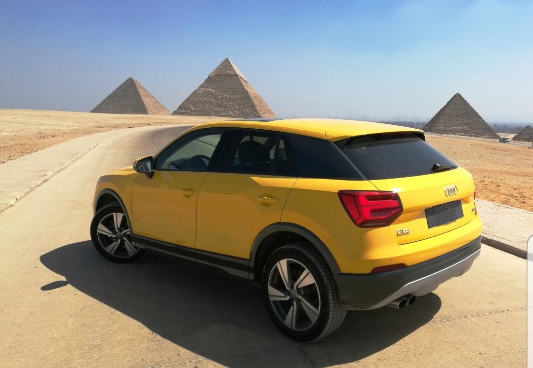 AUDI (Q2)  تكنولوجية ألمانية..لسيارة عصرية
