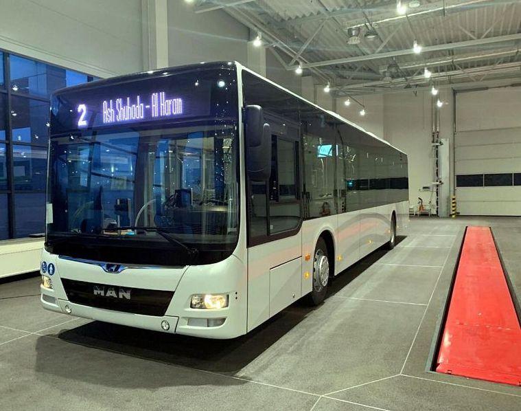 الحافلات الذكية قريبا في العاصمة المقدسة