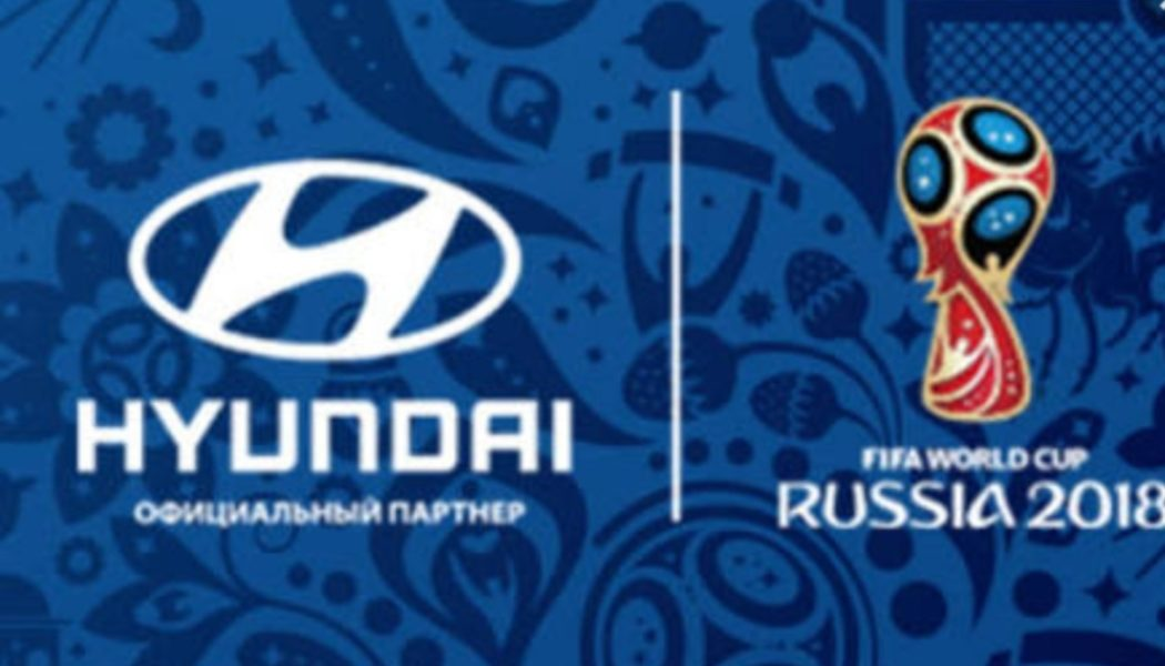Hyundai to offer a fleet of vehicles to the World Cup in Russia