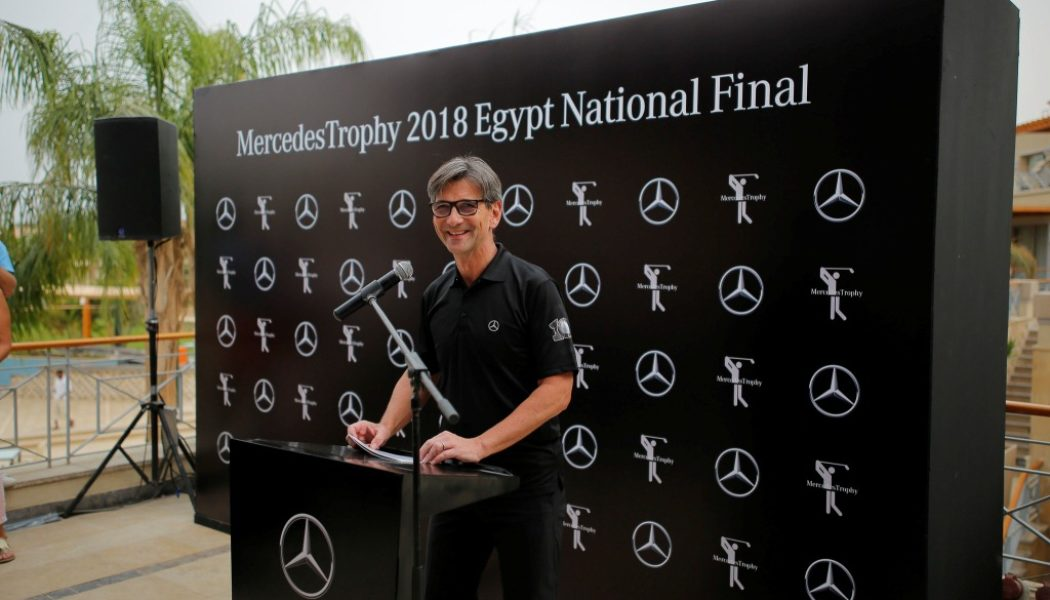 "Mercedes-Benz Egypt celebrates a decade of sporting success with the ""10th anniversary of the MercedesTrophy Egypt"""