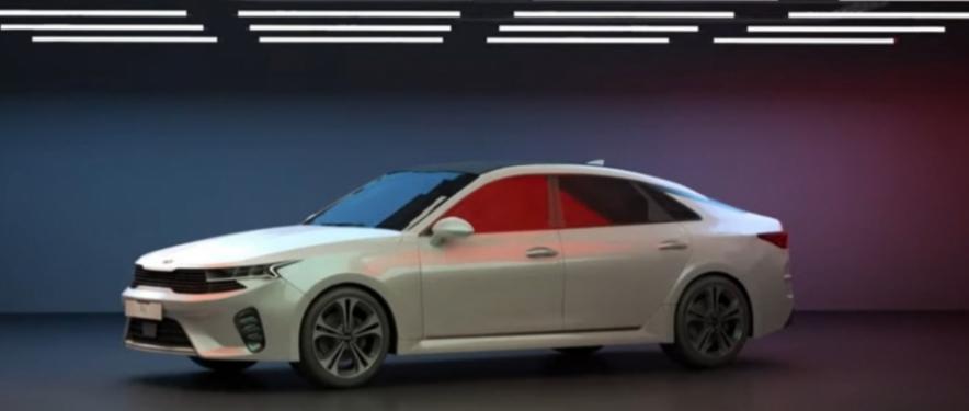 صور توقعية ثلاثية الأبعاد لـ كيا أوبتيما 2021 الجديدة كلياً