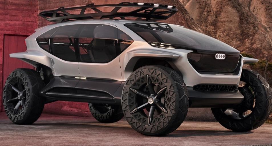 اودي AI:TRAIL سيارة مستقبلية كهربائية للطرق الوعرة